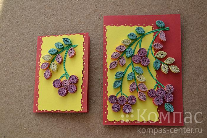 Цветы листья фиолетовые 18